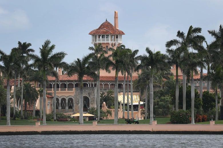 President Donald Trump's Mar-a-Lago resort