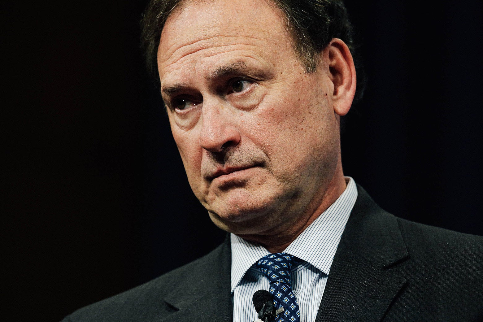 Supreme Court Associate Justice Samuel Alito speaks during the Georgetown University Law Center's third annual Dean's Lecture to the Graduating Class in the Hart Auditorium in McDonough Hall on Feb. 23, 2016, in Washington.