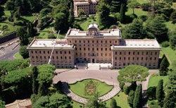 The Vatican gardens.
