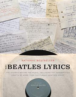 Beatle Lyrics book jacket.