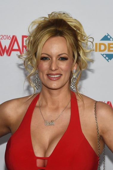 Adult film actress/director Stormy Daniels attends the 2016 Adult Video News Awards at the Hard Rock Hotel & Casino on January 23, 2016 in Las Vegas, Nevada.