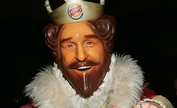Burger King king.