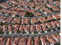 Little boxes on a hillside. Click on image to enlarge.