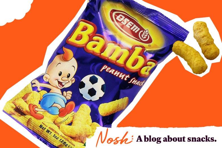 A bag of Bamba.