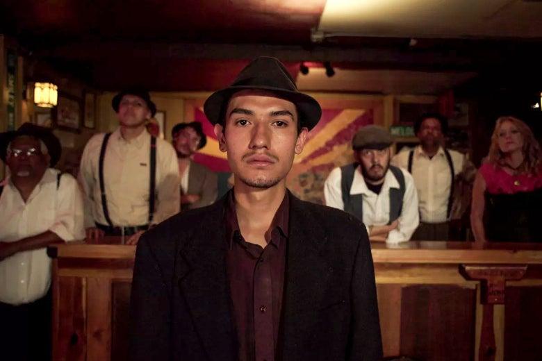 Fernando Serrano in Bisbee '17.