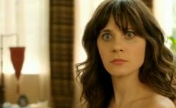 Still of New Girl starring Zooey Deschanel. Click image to expand.