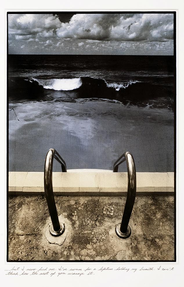 "From the series ""Es sólo agua en la lágrima de un extraño"" (It's only water in the teardrop of a stranger), 1986."
