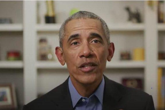 Screenshot of Barack Obama