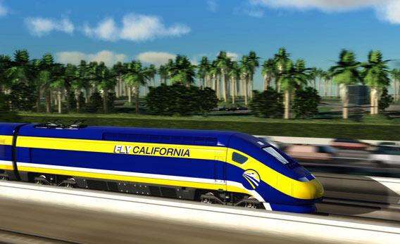 High-speed rail design for Mission Beach
