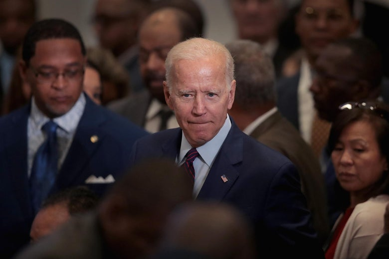 Democratic presidential candidate, former Vice President Joe Biden attends the Rainbow PUSH Coalition Annual International Convention on June 28, 2019 in Chicago, Illinois.