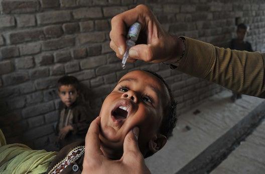 Polio eradication: A humanitarian fix.
