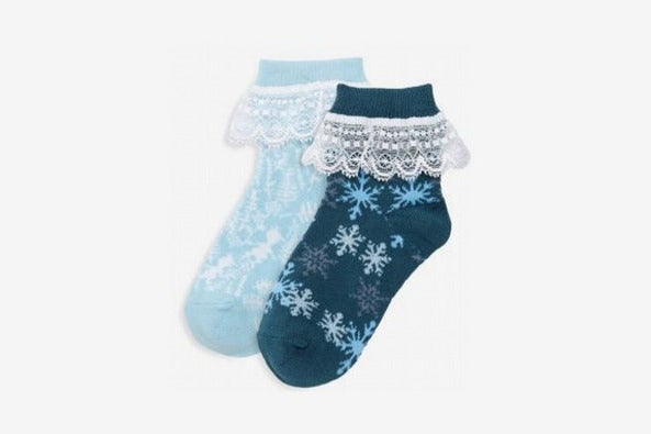 Pair of Thieves Disney's Frozen 2 Two-Pack Icy Ankle Socks