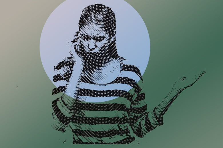 Young woman talking on the phone and looking upset