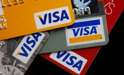 Visa cards. Click image to expand.