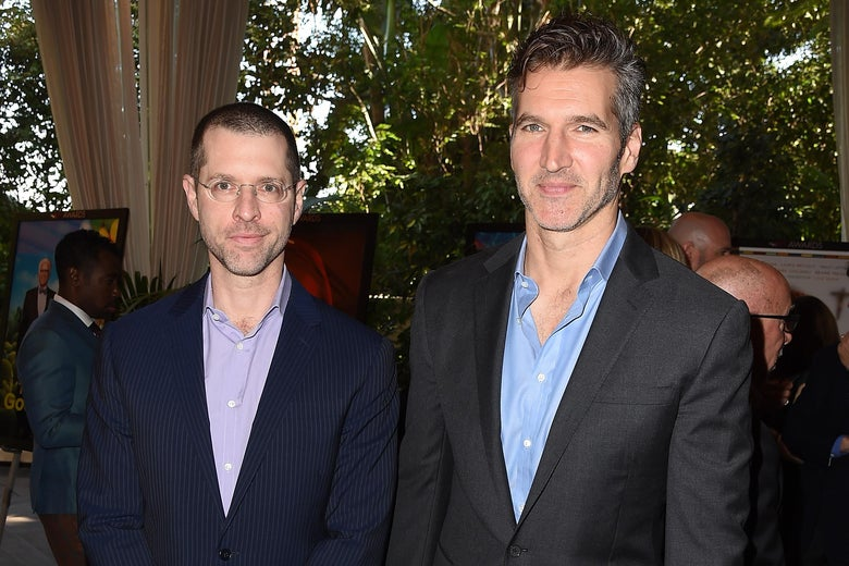 D.B. Weiss and David Benioff at the AFI awards.