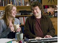 Kate Winslet and Jack Black in The Holiday. Click image to expand.
