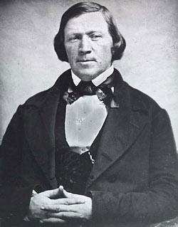 Brigham Young, mid-19th century.
