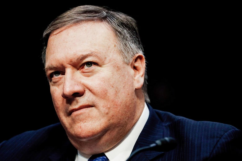 Central Intelligence Agency (CIA) Director Mike Pompeo testifies before the Senate Intelligence Committee on Capitol Hill in Washington, DC, U.S., February 13, 2018.