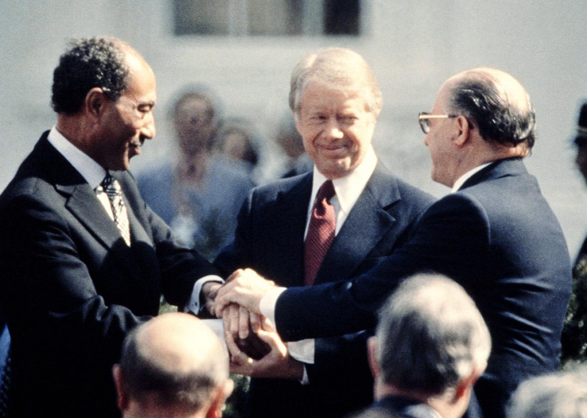 US President Jimmy Carter