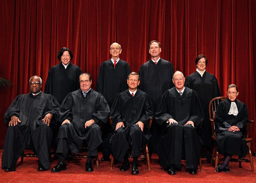 U.S. Supreme Court members.