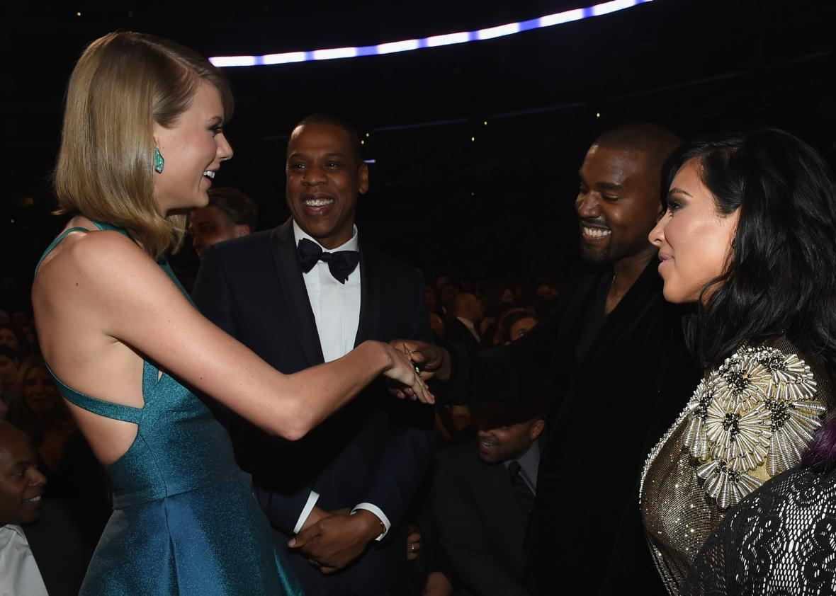 Kanye West Reignites Feud With Taylor Swift Over Misogynistic Lyric
