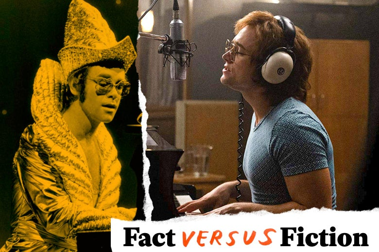 What's Fact and What's Fiction in the Elton John Biopic
