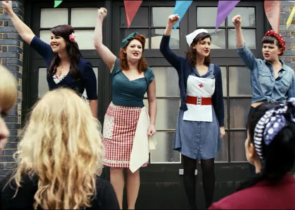 Still of  Four Femmes On The Thames.