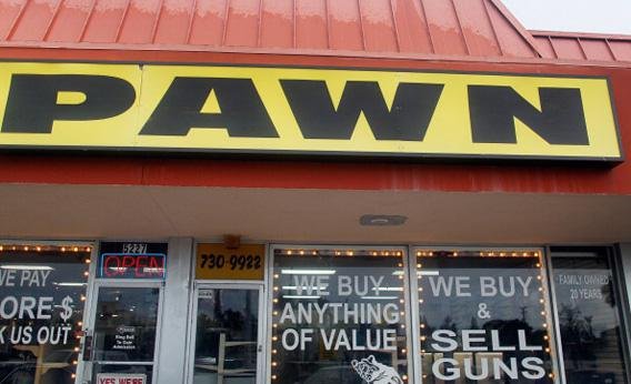 Pawn Shop Businesses Benefit In Rough Economy