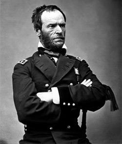 General William Tecumseh Sherman, 1865.