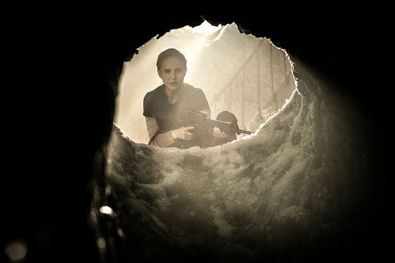 Natalie Portman as Lena in Annihilation.