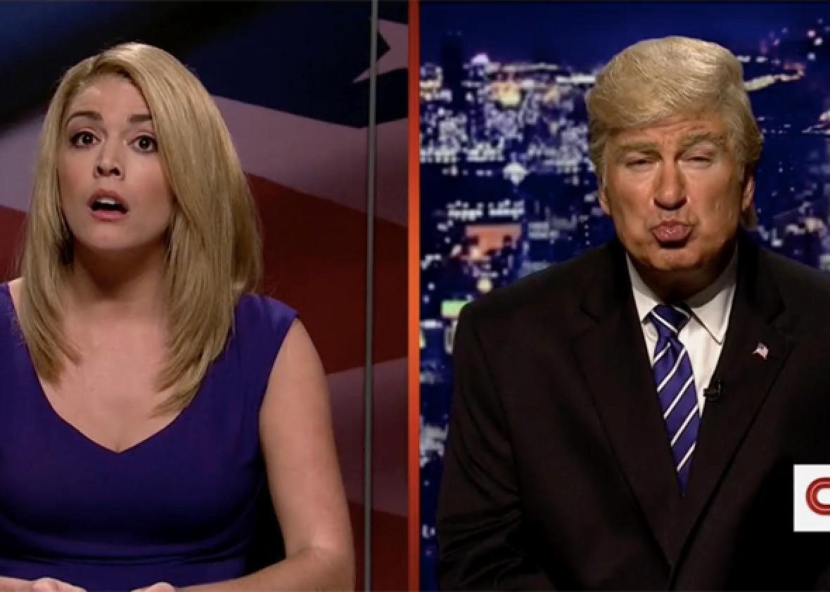 Watch Snl Address Trump S Pussy Grabbing Comments