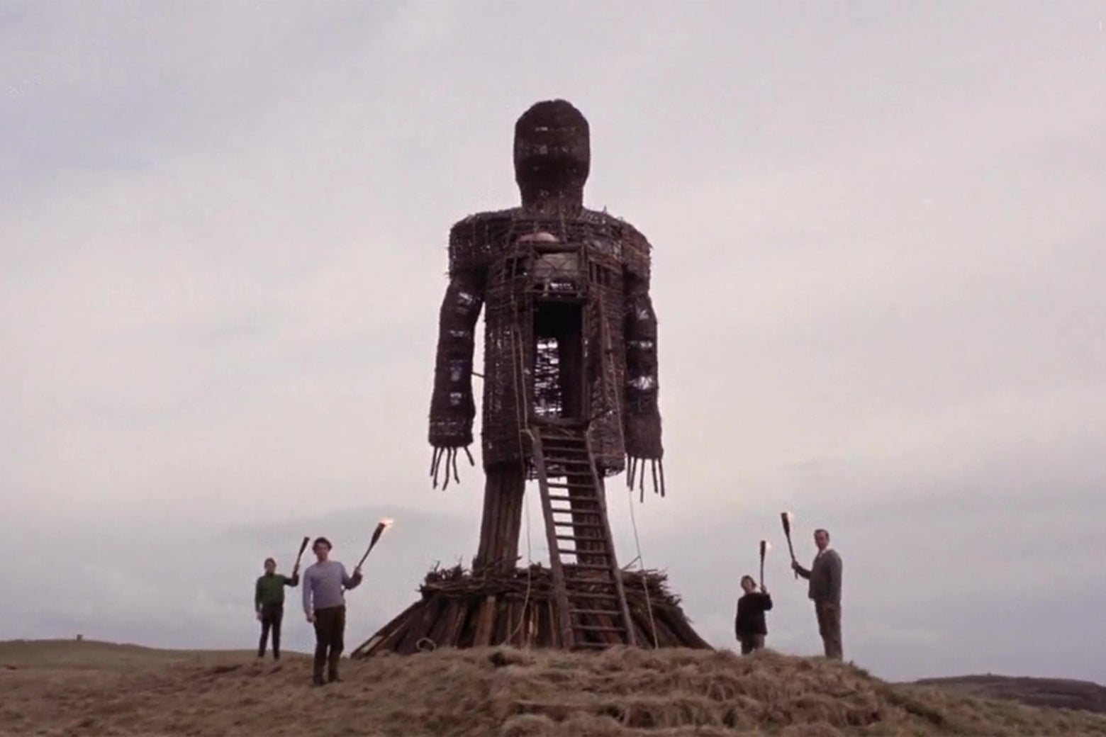 The Wicker Man from The Wicker Man.