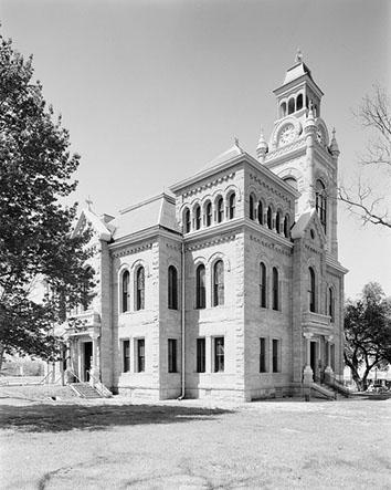 Llano, Texas, courthouse.