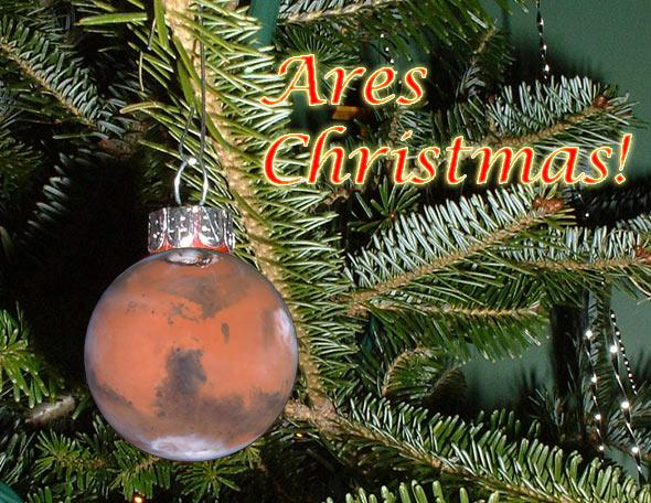 Mars ornament
