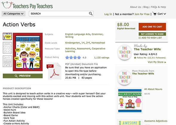 Teachers Pay Teachers: Why the site for teachers to sell