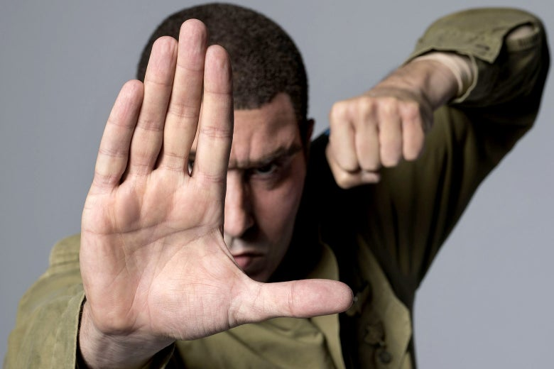 Sacha Baron Cohen in Who Is America?