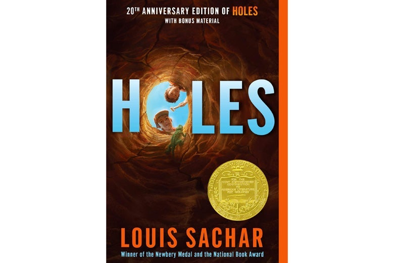 Holes by Louis Sachar.