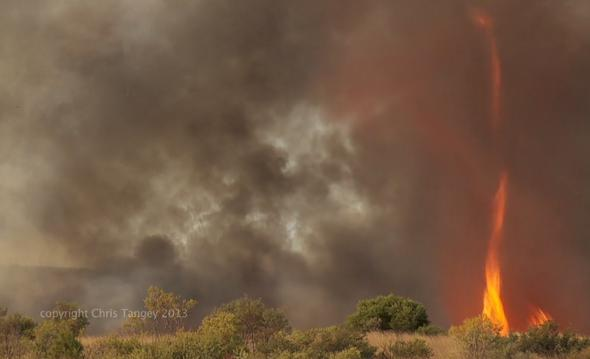 What Time Does Outback Open >> Fire tornado: Best footage yet from Australia.