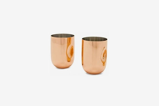 Tom Dixon Copper Moscow Mule Cups