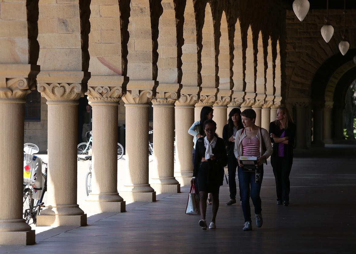 Students can earn a free MBA from Stanford if they agree to