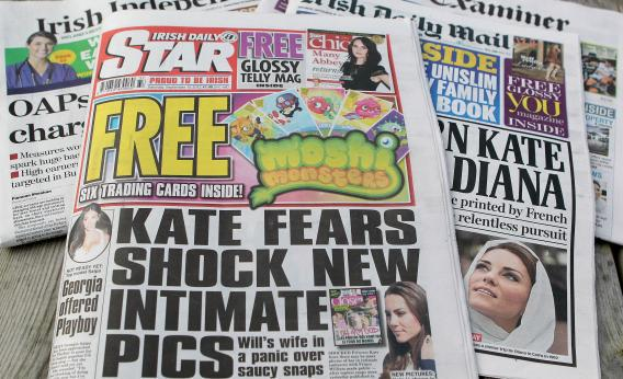 Irish newspapers like the Daily Star don't want anyone linking to their hard-hitting original journalism.