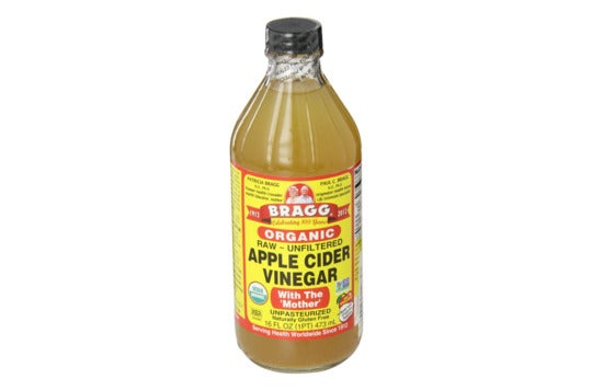 Bragg Organic Raw Apple Cider Vinegar.