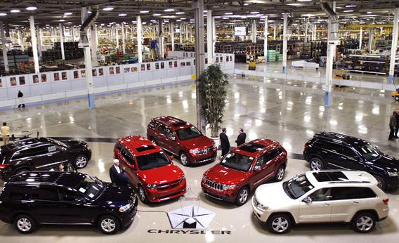 Chrysler Jefferson North Assembly Plant with Chrysler Group.