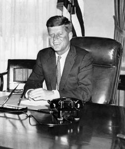 John F. Kennedy. Click image to expand.