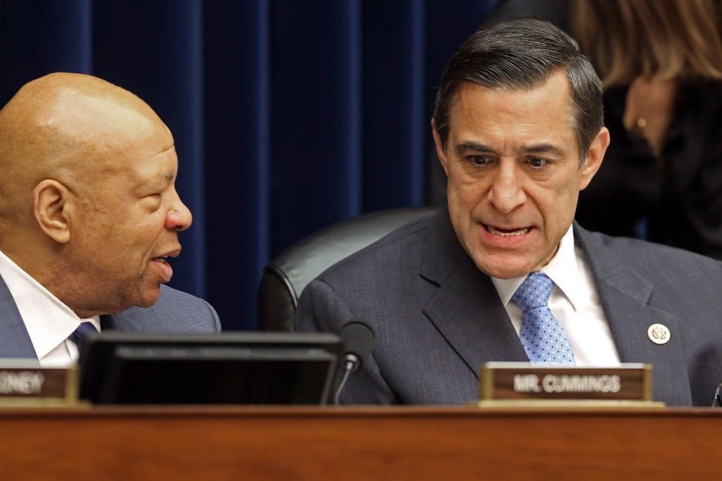California Rep. Darrell Issa at a hearing on Capitol Hill in 2014.