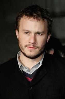 Actor Heath Ledger in 2006.