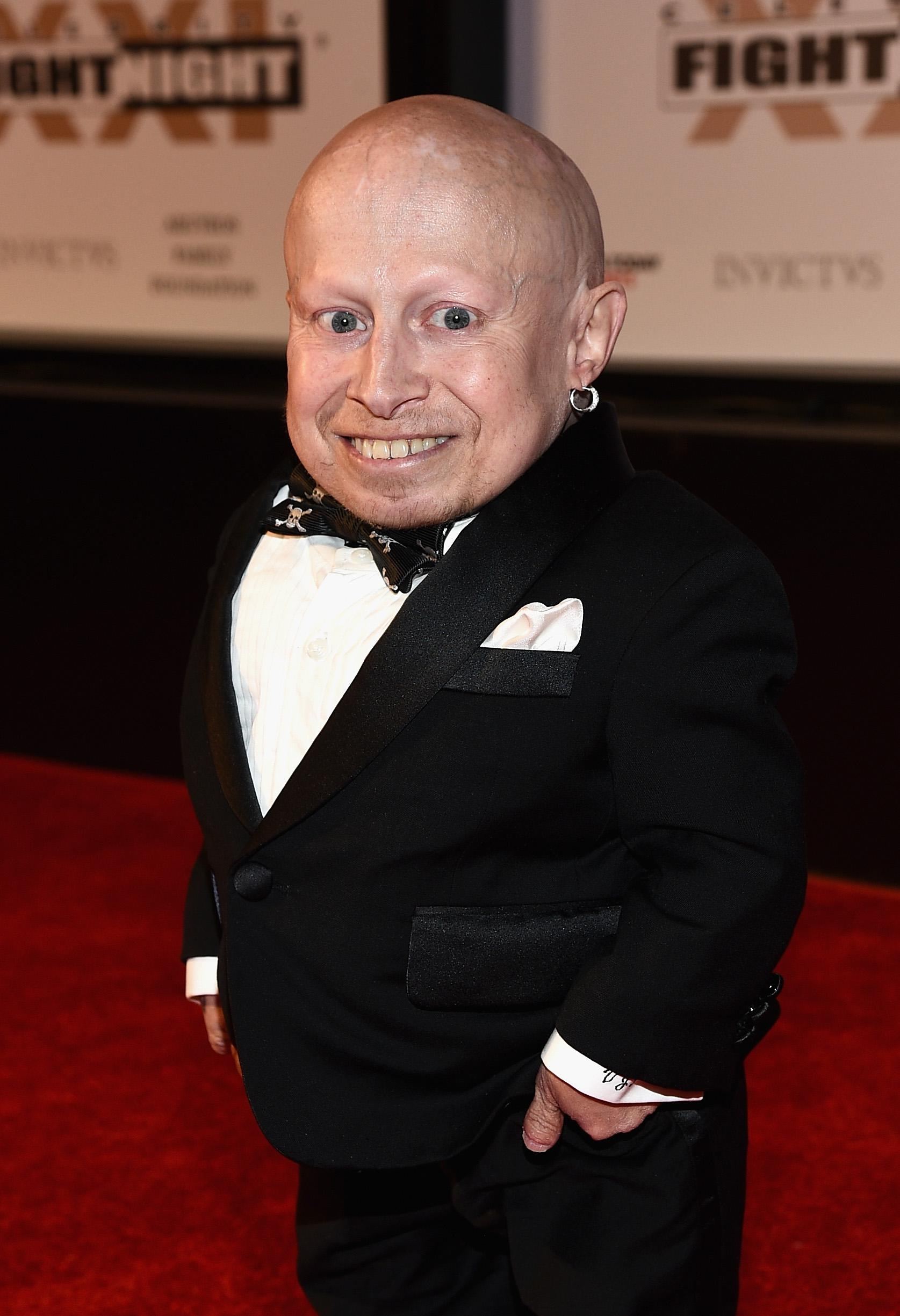 Verne Troyer attends Muhammad Ali's Celebrity Fight Night XXI in 2015.
