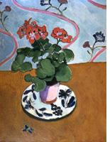 Matisse's 'Geraniums'. Click image to expand.