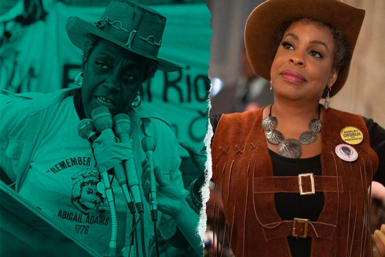 A side-by-side of the two women, wearing cowboy hats