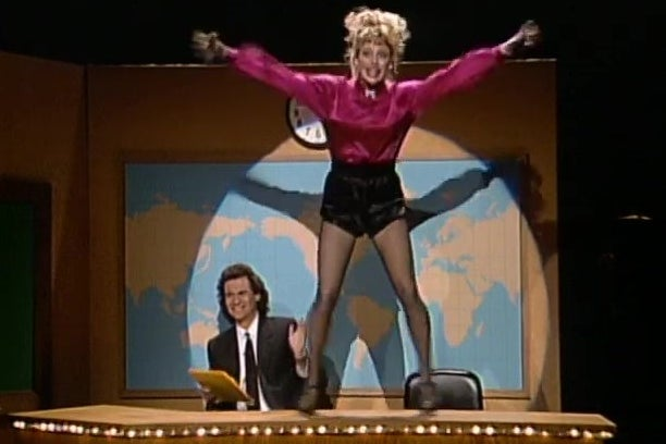 This SNL Sketch Where Victoria Jackson Dances on Dennis Miller's Desk Is an Elegiac Tribute to a Time Before Baby Boomers Ruined the World